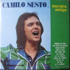 Discos de vinilo: CAMILO SESTO LP CHILE. Lote 37708173