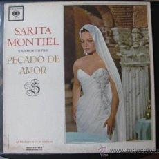 Discos de vinilo: SARA MONTIEL LP USA. Lote 37708873