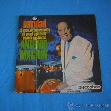 """Discos de vinilo: ANTONIO MACHIN """" NAVIDAD """". Lote 37730635"""