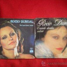 Discos de vinilo: 2 SINGLES DE ROCIO DURCAL. Lote 37726865