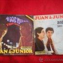 Discos de vinilo: 2 SINGLES DE JUAN Y JUNIOR. Lote 37727096