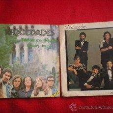Discos de vinilo: 2 SINGLES DE MOCEDADES. Lote 37727107