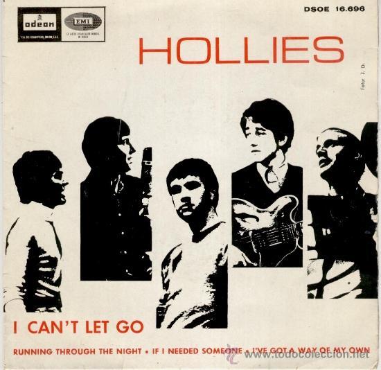 THE HOLLIES - IF I NEEDED SOMEONE ( TEMA BEATLES ) I CAN'T LET GO + 2 - EP SPAIN 1966 VG++ / VG++ (Música - Discos de Vinilo - EPs - Pop - Rock Extranjero de los 50 y 60)