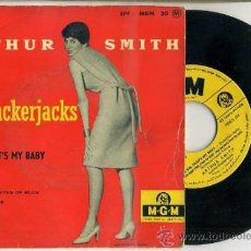 Discos de vinilo: ARTHUR SMITH AND HIS CRACKERJACKS : YES SIR, THT'S MY BABY + 3 CANCIONES. EDICIÓN FRANCESA. Lote 37732073