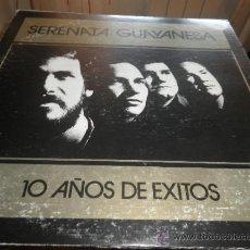 Discos de vinilo: SERENATA GUAYANESA - 10 AÑOS DE EXITOS LP - ORIGINAL VENEZUELA -SONO RODVEN RECORDS 1990 -. Lote 37751037
