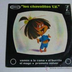 Discos de vinilo: LOS CHABALITOS TV LA CLEO. Lote 37799261