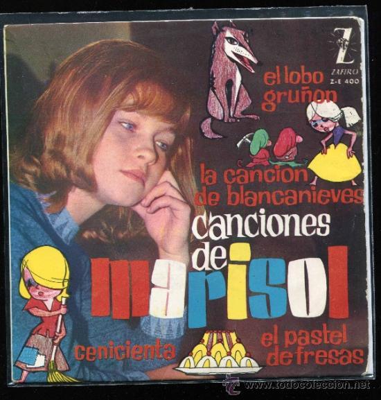 MARISOL SINGLE EP (Música - Discos de Vinilo - Maxi Singles - Solistas Españoles de los 50 y 60)