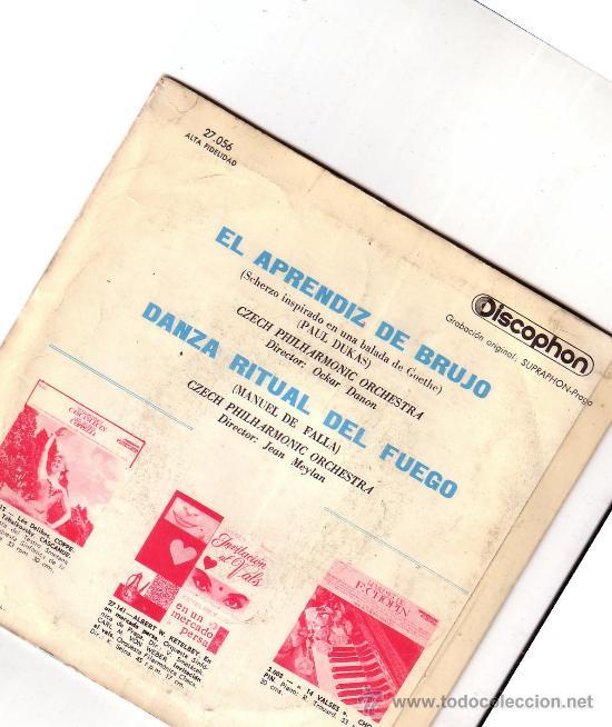Discos de vinilo: RAPSODIA Nº 2, Nº 6, Nº 15-F. LISZT, RAYMOND TROUARD (PIANO) - Foto 2 - 37738131