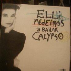 Discos de vinilo: DISCO VINILO - ELLI MEDEIROS A BAILAR CALIPSO - RED ROSES - MAXI SINGLE - AÑOS 80. Lote 37746789