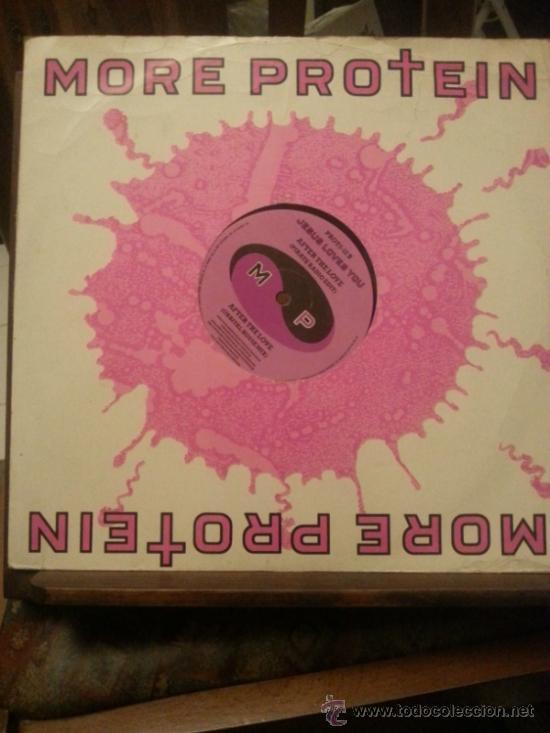 DISCO VINILO - MORE PROTEIN - JESUS LOVES YOU - PIRATE RADIO EDIT - MAXI SINGLE - AÑOS 80 (Música - Discos de Vinilo - EPs - Techno, Trance y House)