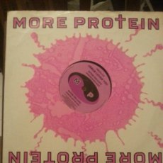 Discos de vinilo: DISCO VINILO - MORE PROTEIN - JESUS LOVES YOU - PIRATE RADIO EDIT - MAXI SINGLE - AÑOS 80. Lote 37746798