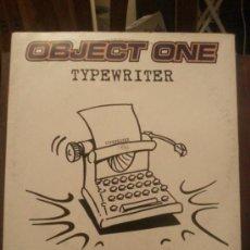 Disques de vinyle: DISCO VINILO TECHNO - OBJECT ONE - TYPEWRITER - MAXI SINGLE - AÑOS 90. Lote 37746830