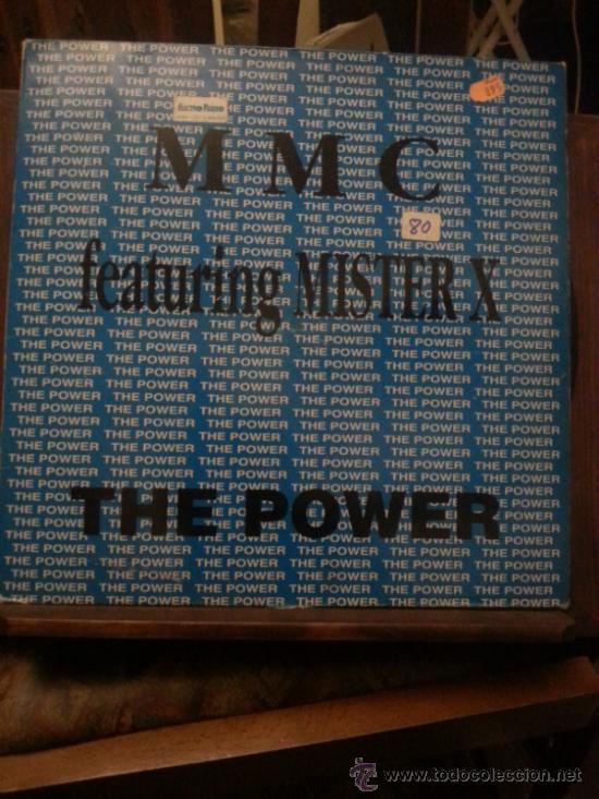 DISCO VINILO TECHNO - MMC FEATURING MISTER X - THE POWER - MAXI SINGLE - AÑOS 90 (Música - Discos de Vinilo - EPs - Techno, Trance y House)