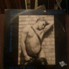 Discos de vinilo: DISCO VINILO - MALE STRIPPER - MAN 2 - MAN PARRISH - BOLTS - MAXI SINGLE - AÑOS 90. Lote 37746849