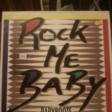 Discos de vinilo: DISCO VINILO - ROCK ME BABY - BABYROOTS - BANCO Y NEGRO MIX - MAXI SINGLE - AÑOS 90. Lote 37746870