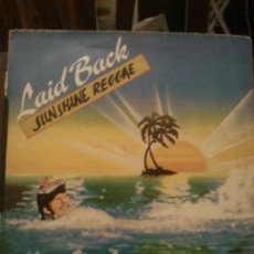 Discos de vinilo: DISCO VINILO REGGAE - LAID BACK - SUPERSINGLE - SUNSHINE REGGAE MAXI SINGLE - AÑOS 80. Lote 37746882