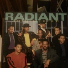 Discos de vinilo: DISCO VINILO - RADIANT - SOMETHINGS GOT A HOLD ON ME - MAXI SINGLE - AÑOS 80. Lote 37746912