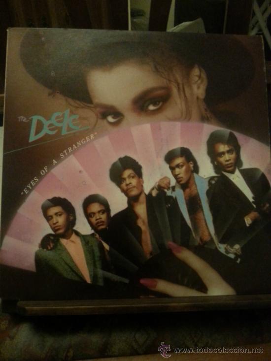DISCO VINILO - THE DEELE - EYES OF A STRANGER - MAXI SINGLE - AÑOS 80 (Música - Discos de Vinilo - EPs - Techno, Trance y House)