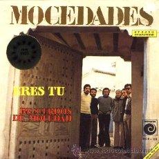 Discos de vinilo: MOCEDADES ··· ERES TU / RECUERDOS DE MOCEDAD - (SINGLE 45 RPM) EUROVISION 1973. Lote 37748363