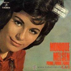 Discos de vinilo: MONIQUE MELSEN ··· POMME, POMME, POMME / FA, .. FA, ..FA - (SINGLE 45 RPM) EUROVISION 1971. Lote 37748381
