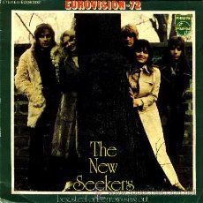 Discos de vinilo: THE NEW SEEKERS ··· BEG, STEAL OR BORROW / SING OUT - (SINGLE 45 RPM) EUROVISION 1972. Lote 37748408
