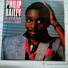 Discos de vinilo: VINILO PHILLIP BAILEY (DUET WITH PHILL COLLINS) EASY LOVER (MAXI SINGLE). Lote 37751217