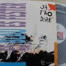 Discos de vinilo: JA THO DIRE -ES BLAU ES FESTER -LP 1991 -PDI -IMPECABLE. Lote 37756727