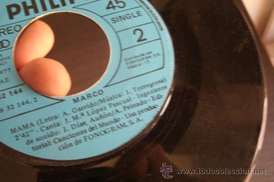 MARCO - HOY ES UN DIA DE FIESTA - MAMA - SIN CARATULA (Música - Discos - Singles Vinilo - Música Infantil)