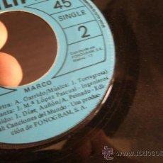 Discos de vinilo: MARCO - HOY ES UN DIA DE FIESTA - MAMA - SIN CARATULA. Lote 37861990