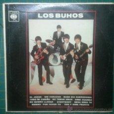 Discos de vinilo: LP ORIG ARGENTINA 1964 LOS BUHOS CBS 8493 MONO RARO GARAGE ARGENTINO SONIDO MUY BUENO. Lote 37759506