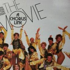 Discos de vinilo: A CHORUS LINE-THE MOVIE,B.S.O. EDICION ESPAÑOLA DEL 85 DOBLE CARPETA. Lote 37759882