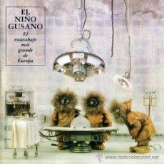 Discos de vinilo: 2LP EL NIÑO GUSANO EL ESCARABAJO MAS GRANDE DE EUROPA VINILO. Lote 124753439