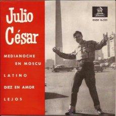 Discos de vinilo: EP-JULIO CESAR-ODEON 16525-1963-. Lote 37766357