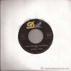 Discos de vinilo: SINGLE-WARREN STORM-DOT 16272-USA-1961-ROCK & ROLL. Lote 37766988