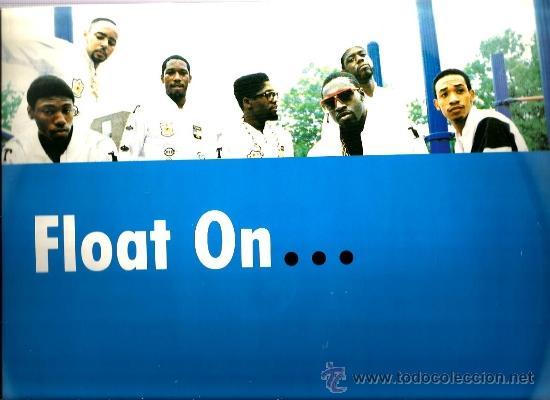 MAXI STETSASONIC : FLOAT ON ( FEATURING THE FORCE M.D.´S ) (Música - Discos de Vinilo - Maxi Singles - Rap / Hip Hop)