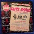 Discos de vinilo: GUYS & DOLLS. A MUSICAL FABLE OF BROADWAY. ESTUCHE CON 7 SINGLES DE VINILO. DECCA RECORDS. U.S.A. 45. Lote 37768844