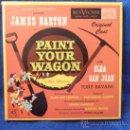 Discos de vinilo: PAINT YOUR WAGON. JAMES BARTON - OLGA SAN JUAN. ESTUCHE CON 5 SINGLES DE VINILO. R.C.A. VICTOR. U.S.. Lote 37769983