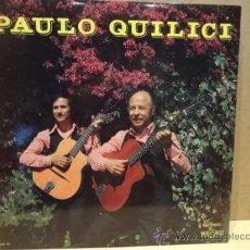Discos de vinilo: FIRMADO !! PAULO QUILICI. LP 1977. ACOMPAÑADO POR PIERRE QUILICI. BUENA CALIDAD. ***/***. Lote 37772549