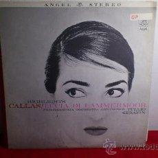 Discos de vinilo: CALLAS - PHILHARMONIA ORCHESTRA AND CHORUS, THE, TULLIO SERAFIN ?– LUCIA DI LAMMERMOOR (HIGHLIGHTS) . Lote 37774060