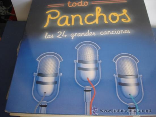 LOS PANCHOS TODO PANCHOS LAS 24 GRANDES CANCIONES (Música - Discos - LP Vinilo - Grupos y Solistas de latinoamérica)