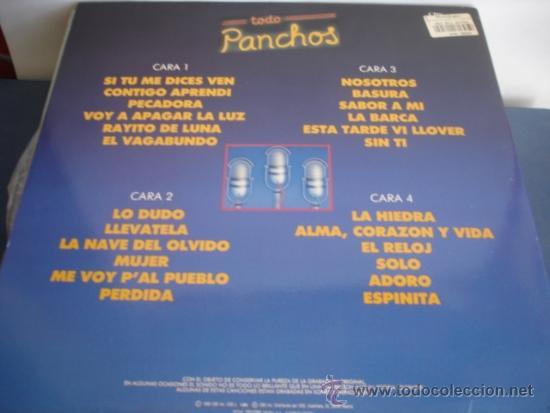 Discos de vinilo: LOS PANCHOS TODO PANCHOS LAS 24 GRANDES CANCIONES - Foto 3 - 37780263