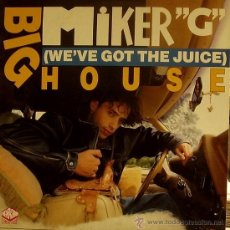Discos de vinilo: MIKER G-BIG HOUSE MAXI SINGLE VINILO 1990 SPAIN. Lote 37782916