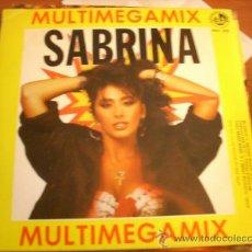Discos de vinilo - Sabrina - multimegamix ( Blanco y Negro 1988) Raul Orellana mix - 37788231