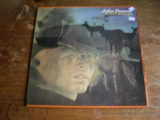 JOHN DENVER -- FAREWELL ANDROMEDA - RCA DE 1973 - DOBLE PORTADA (Música - Discos de Vinilo - EPs - Jazz, Jazz-Rock, Blues y R&B)