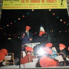 Discos de vinilo: HARMONIE MUNICIPALE DE SAIN-JEAN DE LUZ - EN EL KIOSKO DE LA MUSICA EP - ORIGINAL ESPAÑA ZAFIRO 1962. Lote 37799465