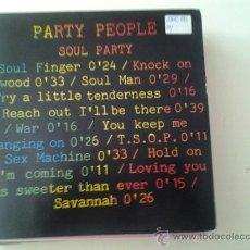 Discos de vinilo: PARTY PEOPLE - SOUL PARTY (PEDIDO MINIMO 6 EUROS). Lote 37800389