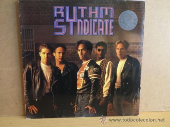 RYTHM SYNDICATE.. LP IMPACT AMERICAN 1991.VINILO IMPECABLE. ***/**** (Música - Discos - LP Vinilo - Pop - Rock Extranjero de los 90 a la actualidad)