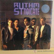Discos de vinilo: RYTHM SYNDICATE.. LP IMPACT AMERICAN 1991.VINILO IMPECABLE. ***/****. Lote 37803555