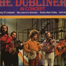 Discos de vinilo: LP THE DUBLINERS : IN CONCERT . Lote 37804184