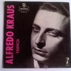 Discos de vinilo: ALFREDO KRAUS - VALENCIA. Lote 37804913